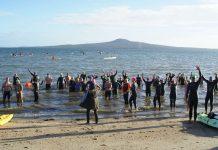 Auckland Marathon Swimmers ready to go!