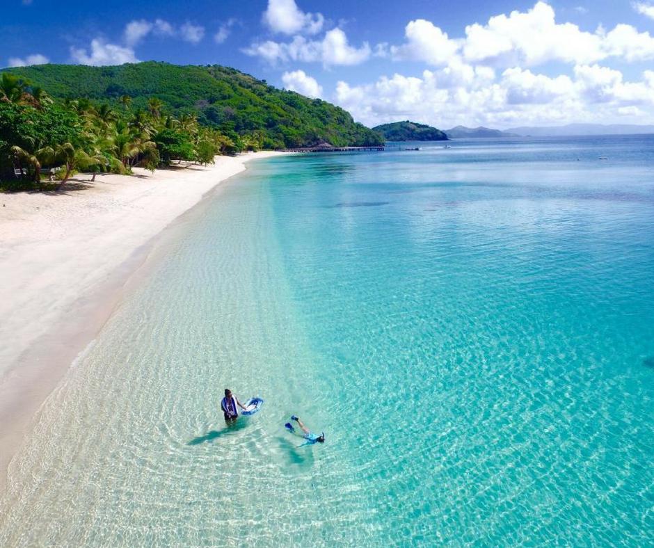Fiji Beaches: How About A Swim Trip To Paradise: Ocean Swim Fiji