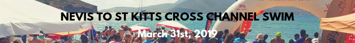 Nevis to St Kitts Cross Channel Swim Ad